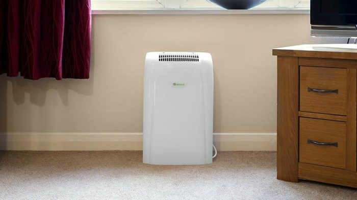 Crawl space dehumidifier: size matters