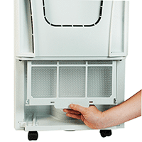 how to maintain a dehumidifier: the coil should be cleaned regularly