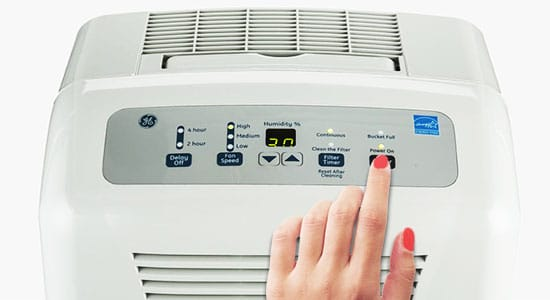 8. Wait at least 10 Minutes Before Turning Your Dehumidifier On