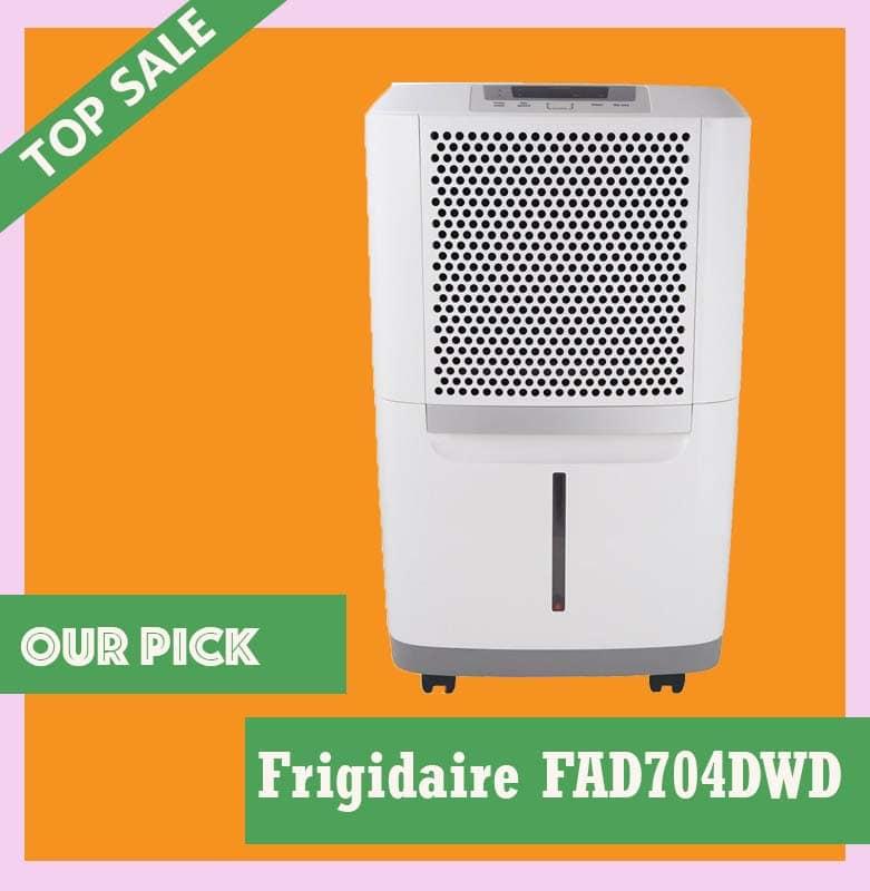 Frigidaire FAD704DWD Energy Star 70 pint Dehumidifier