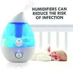 humidifier benefits; get rid of infections using a quality humidifier