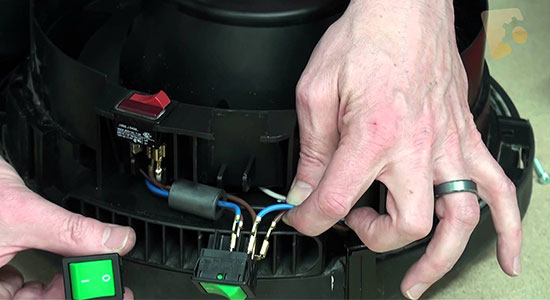 Servicing the On/Off Switch