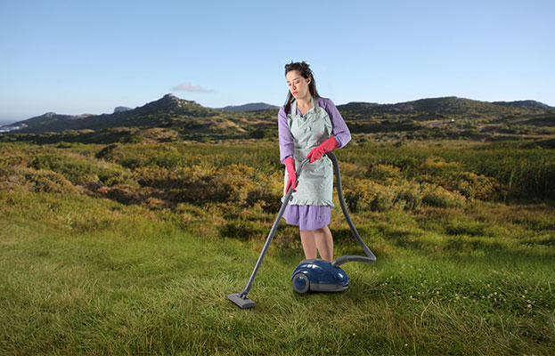 Using Your Vacuum Cleaner as a Leaf Blower! Must Read!