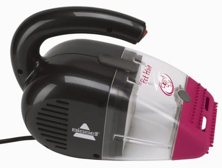 Our budget pick: Bissell Pet Hair Eraser Handheld Vacuum