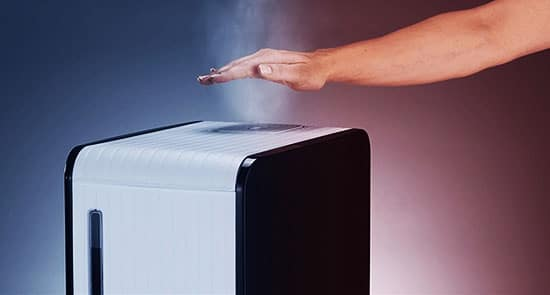 2. Warm Mist Humidifier