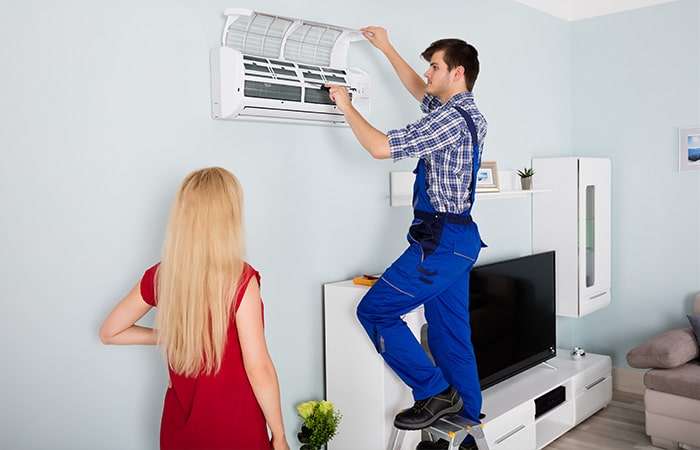 air conditioner leaking water: What To Do When You See Your AC Leaking Water