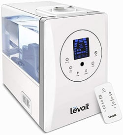 Warm & Cool Mist Ultrasonic Humidifiers With Aromatherapy By Levoit