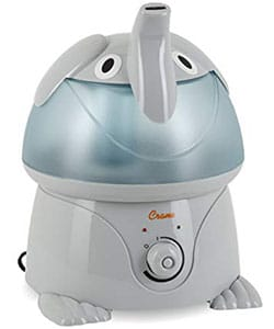Best Adorable design for your Baby Room: Cool Mist Humidifiers for Kids, Elephant By Crane USA