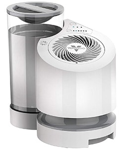 evaporative humidifier: It can effectively cover a large area