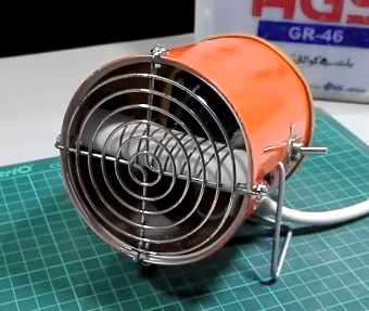 DIY heater: Electric Fan Heater