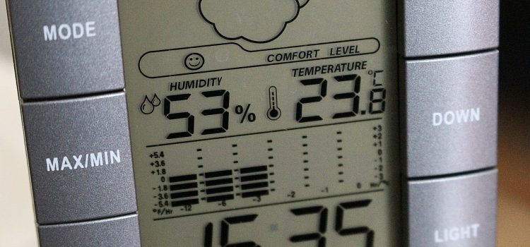why is my house so humid: Humidity meter
